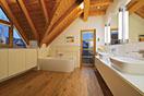 Badezimmer sanieren - Eichenhaus Schreinerei & Architekturbüro | {Bad mit freistehende badewanne dachgeschoss 54}