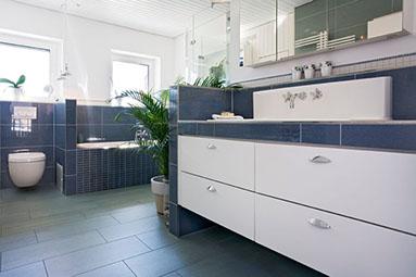 Badezimmer Sanieren Eichenhaus Schreinerei Architekturb Ro