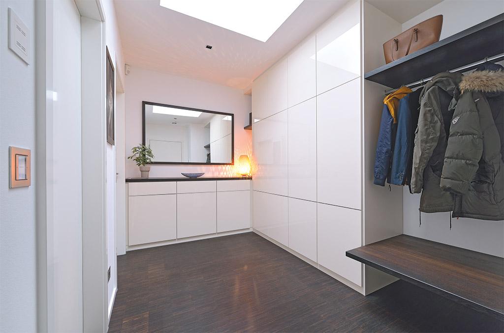 Garderobe Holz Modern. Best Beton Weiss Woody Holz Modern With ...