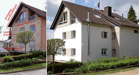 Haust r fenster fachmann f r sanierung und neubau for Fenster neubau