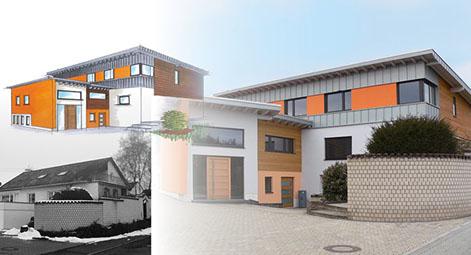 Eichenhaus Schreinerei Und Architekturbüro In Laufach, Lohr Und Gemünden.