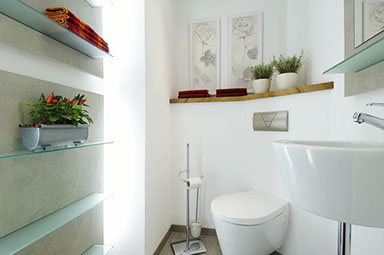 Badausstellung Aschaffenburg badezimmer sanieren eichenhaus schreinerei architekturbüro