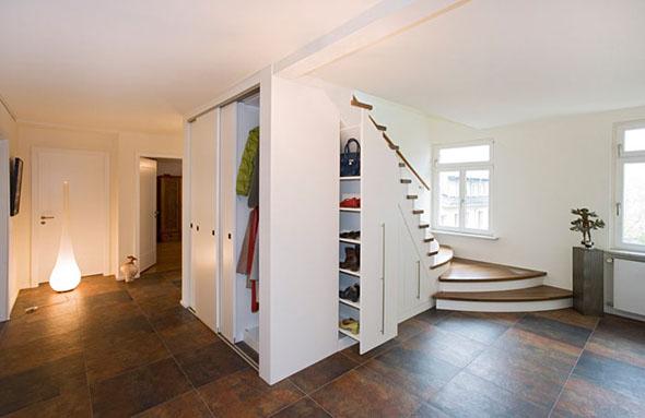 Garderoben von der schreinerei im eichenhaus aschaffenburg for Einbauschrank garderobe modern