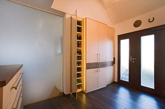 Garderobenschrank Mit Schiebetüren garderoben der schreinerei im eichenhaus aschaffenburg
