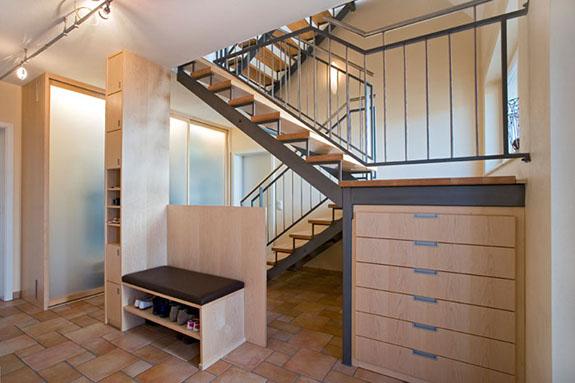 Garderoben von der schreinerei im eichenhaus aschaffenburg for Garderobe schuhschrank kombination