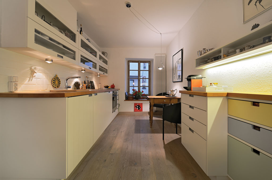 Küche Weiß Mit Holz küche 1 000 qm schreiner ausstellung in aschaffenburg