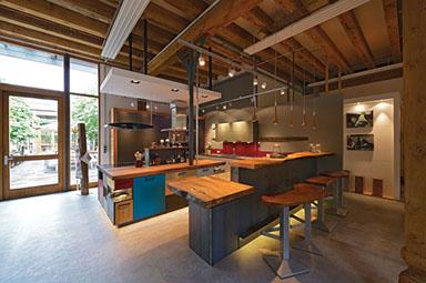 Emejing Offene Küchen Mit Tresen Images - Ridgewayng.com ...