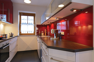 Kuche 1000 qm schreiner ausstellung in aschaffenburg for H ngeschrank küche glas
