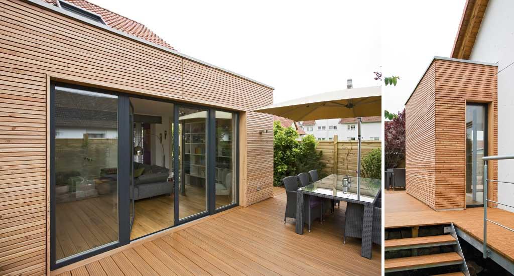 anbau am haus in aschaffenburg eichenhaus planungsb ro. Black Bedroom Furniture Sets. Home Design Ideas
