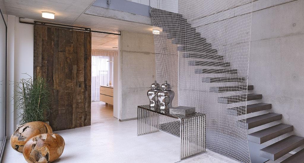 Zimmertur Windfang Eichenhaus Schreinerei Und Architekturburo
