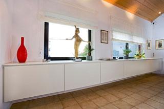 Stunning Hängeschrank Wohnzimmer Weiß Gallery   House Design Ideas .