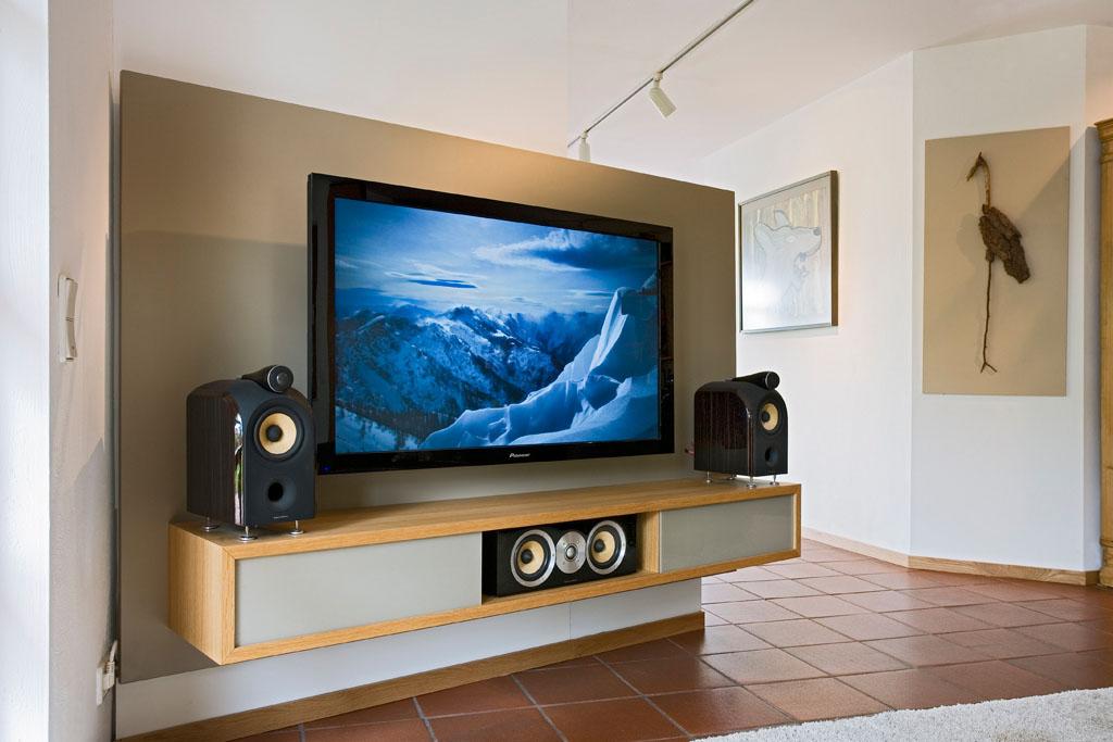 Fernsehschrank modern holz  TV Möbel & Fernsehschrank von der Schreinerei im Eichenhaus