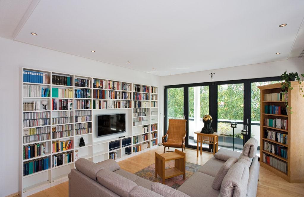 Bücherschrank Und TV Möbel Kombination Von Schreinerei Werner AG  Aschaffenburg