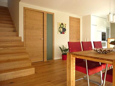 Zimmertüren eiche modern  Zimmertür & Windfang - Eichenhaus Schreinerei und Architekturbüro